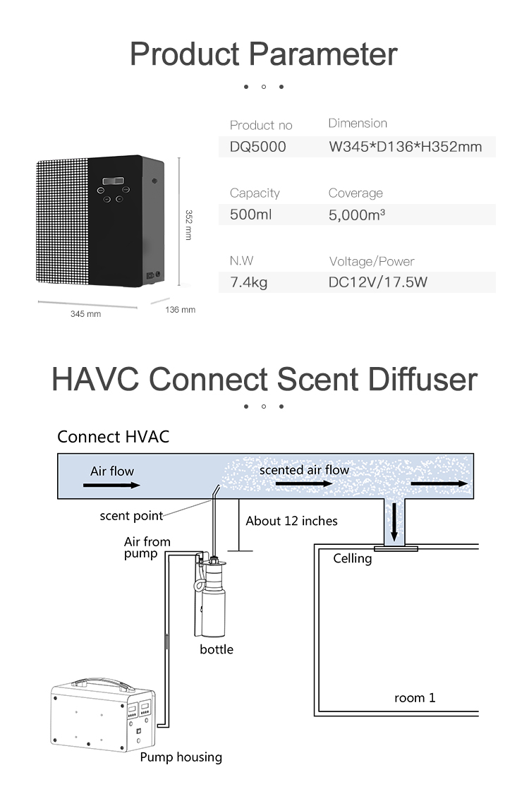 commercial scent diffuser machine